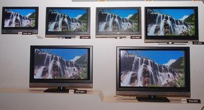 Hitachi P42-H01, P37-H01 Plasma TV and L32-H01 LCD TV