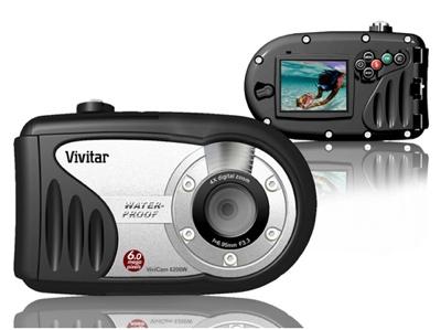 Vivitar ViviCam 6200W Underwater Digital Camera