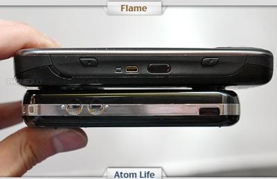 O2 Atom Life vs Flame