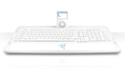 Razer Pro|Type Keyboard with iPod Dock