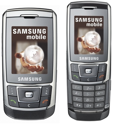 d900i kayar kapak we süper bi smg telefonu Samsung-SGH-D900i-phone