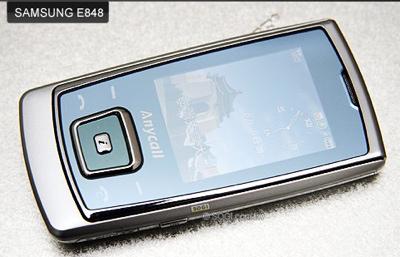 Samsung E848 - The World's Thinnest Slide Phone