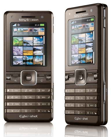 Sony Ericsson K770 Cyber-shot Mobile Phone