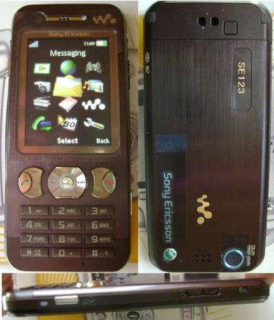 Sony ericsson walkman w890i braun (o2 simlock) 3g 3,2mp videoanruf radio mp3 pla