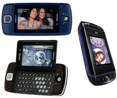 T-Mobile Sidekick LX and Sidekick Slide