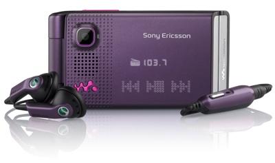 Sony Ericsson W380 Mobile Phone
