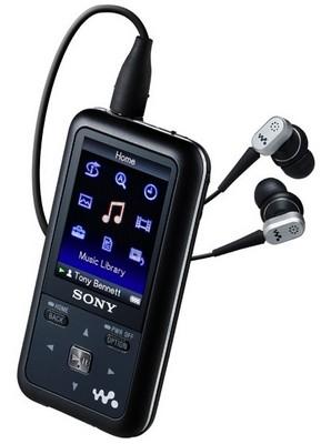 Sony NWZ-S710F series Walkman Player