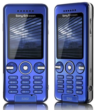 sony ericsson s302 snapshot phone