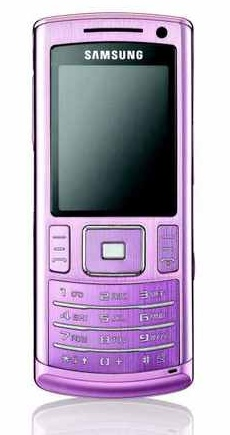 Samsung U800 Soulb in Pink for Breast Cancer Awareness