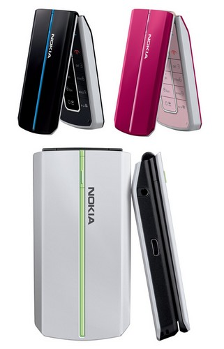 Nokia 2608, a Type CDMA Clamshell