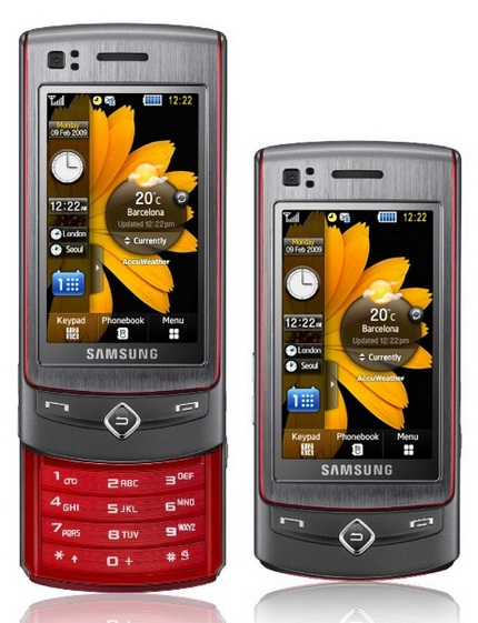 samsung ultratouch s8300 8mpix touchscreen slider 1 8.0 Megapixel In Your Hand