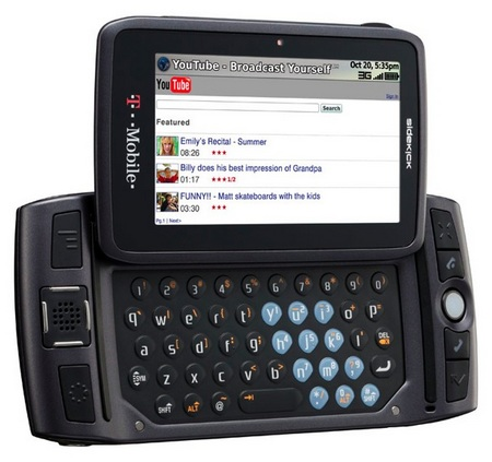 t mobile sidekick lx qwerty phone T Mobile Sidekick Data Will Be Restored, Too Late?