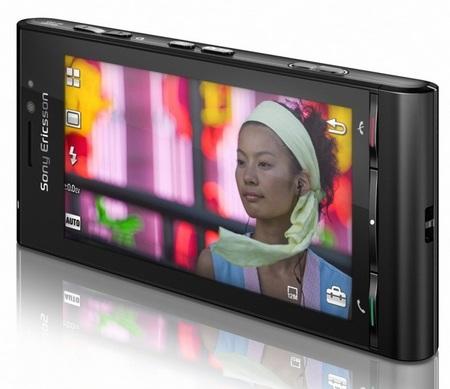 Sony Ericsson Satio 12 Megapixel Phone front