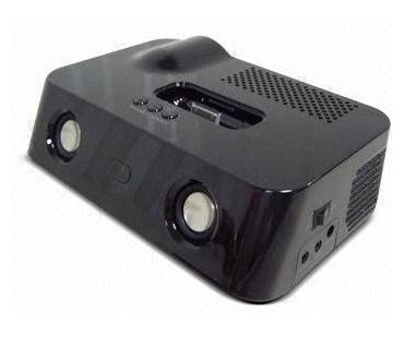Lancerlink ijector ipod mobile projector itech news net for Apple mobile projector