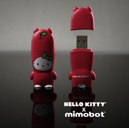 ... partnered to introduce the hello kitty designer usb flash drive this