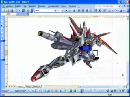 How to Draw a Gundam in