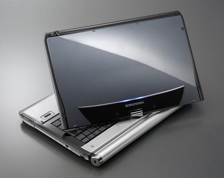 tablet/mini notebook maker, Kohjinsha presents the EX6 convertible ...