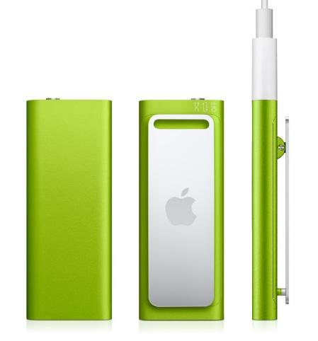 Apple iPod Shuffle 3G green