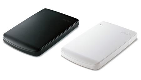 Buffalo HD-PVU2 Slim Portable Hard Drive