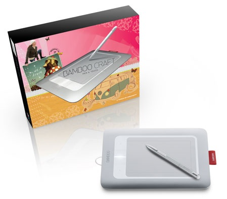 Wacom Bamboo Craft multitouch tablet package