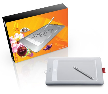 Wacom Bamboo Fun multitouch tablet package