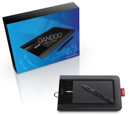 Wacom Bamboo Pen and Touch multitouch tablet