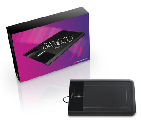 Wacom Bamboo Touch multi-touch tablet package