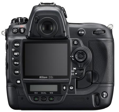 Nikon D3s DSLR Camera back