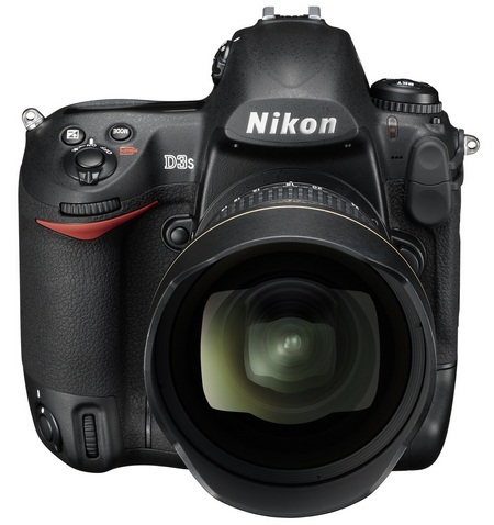 Nikon D3s DSLR Camera front 1