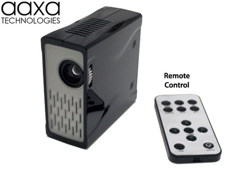 Aaxa m1 micro projector is the world s smallest itech for Smallest micro projector