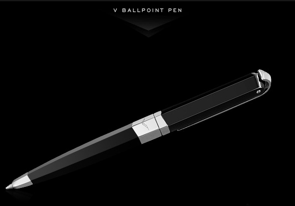 Vertu V Collection Bluetooth Headset Ballpoint Pen And