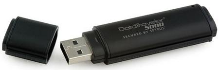 Kingston DataTraveler 5000 Ultra-Secure USB Flash drive