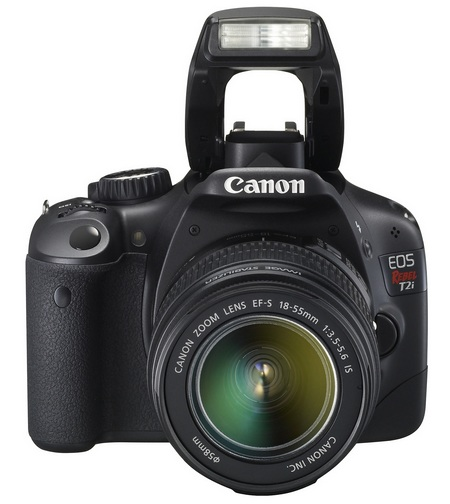 canon 550d images. The Canon 550D features also a