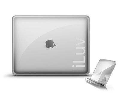 Iluv iCC803 Ultra Think Clear Case for iPad