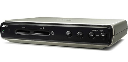 JVC CU-VS100 HD Media Player with dual SD/SDHC slots