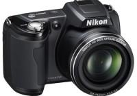 Nikon CoolPix L110 15x zoom camera black