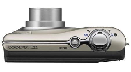 Nikon CoolPix L22 Digital Cameratop