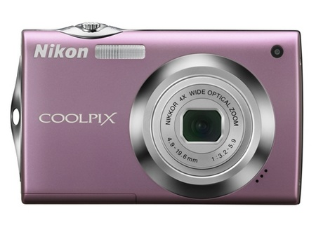 Nikon CoolPix S4000 Touchscreen Digital Camera pink