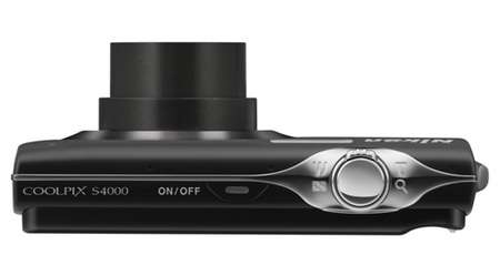 Nikon CoolPix S4000 Touchscreen Digital Camera top