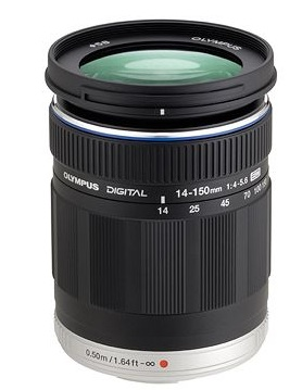 Olympus M.ZUIKO DIGITAL ED 14-150mm F4.0-5.6 lens