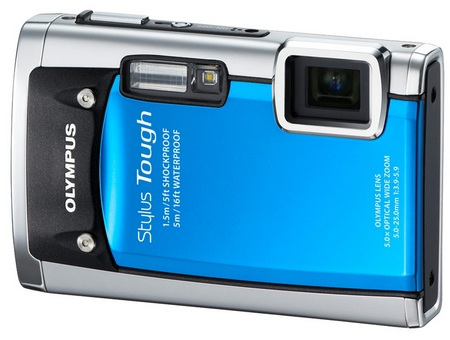 Olympus STYLUS TOUGH-6020 Ultra Tough Camera Blue