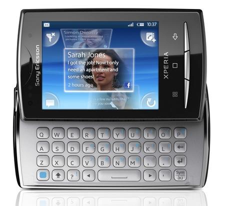 sony ericsson xperia. Sony Ericsson Xperia X10 mini