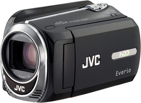 JVC Everio GZ-MG750 Camcorder with 80GB Hard Drive