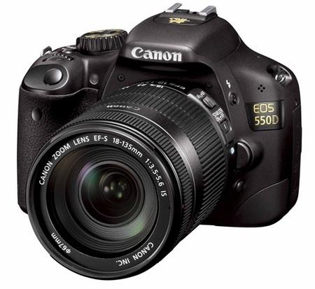 Продам зеркальный ф/а canon eos 550D (новый) + 2 объектива.
