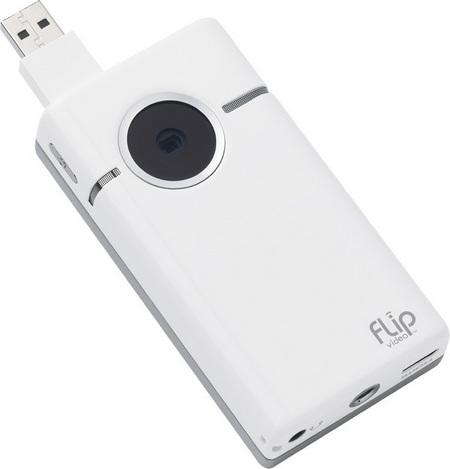 Cisco Flip SlideHD 720p Camcorder lens