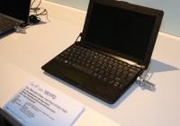 Asus Eee PC 1001PQ Netbook for Kids black purple