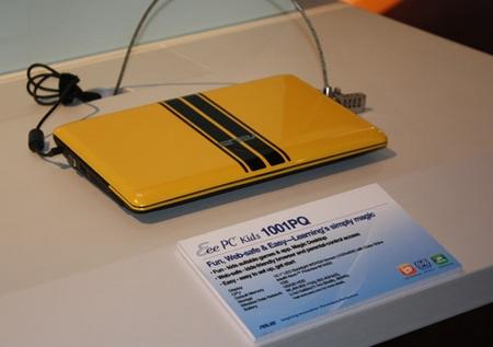 Asus Eee PC 1001PQ Netbook for Kids yellow black