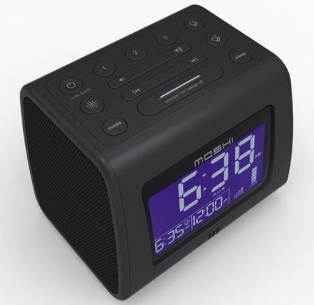 Moshi Voice Control Digital Clock Radio top