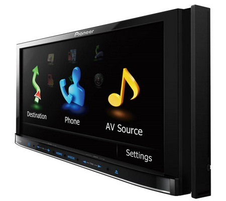 Pioneer AVH-P2400BT DVD AV Receiver with iPod and Bluetooth