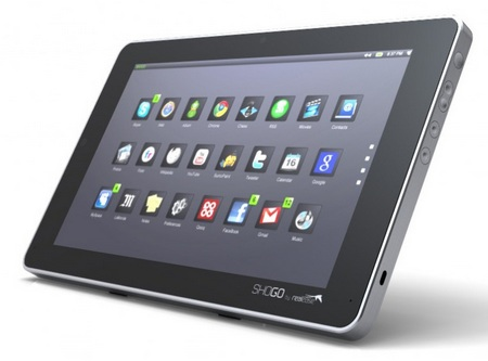 company called realease introduces the shogo 10 inch open tablet